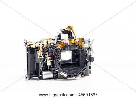 反汇编的照片的相机