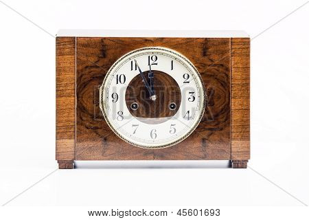 Historic Wood Clock