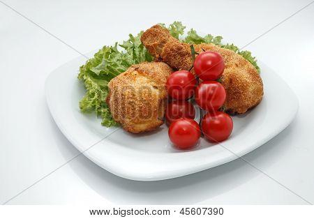 Juicy Fried Chicken Legs