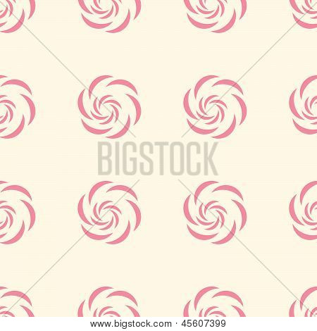 Dusty Rose Seamless Pattern