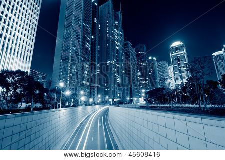 Megacity Highway In China