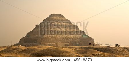The Step Pyramid Of Djoser In Egypt, Famous, Landmark