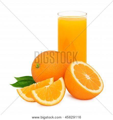 Orange Juice (isolated)