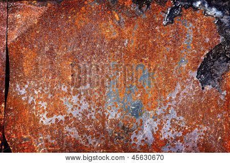 Old Rusty Iron