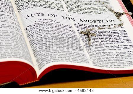 Rosary Bible Page - Apostles