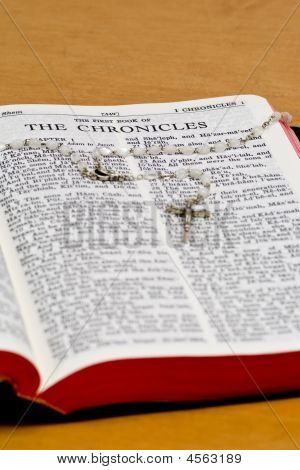 Rosary Bible Page - Chronicles