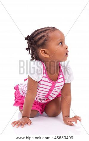 Cute Little African American Girl - Black Children