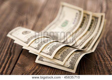Five hundred dollars close-up photo