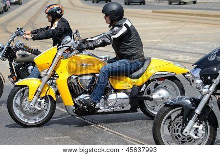 Super Rally - Harley Motor Parade