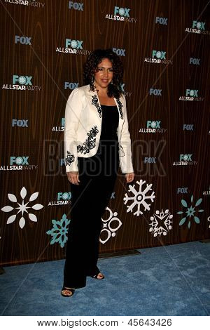 PASADENA - JAN 11: Diana Maria Riva arrives at the Fox 2010 Winter All-Star Party held at Villa Sorisso in Pasadena, California on January 11, 2010