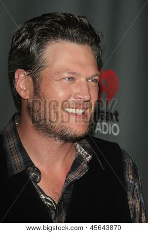 WEST HOLLYWOOD, CA - MAY 8:  Blake Shelton at the NBC's 'The Voice' Season 4 Red Carpet Event at the House of Blues on May 8, 2013 in West Hollywood, California