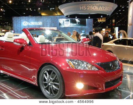 Lexus Is Convertible Coupe