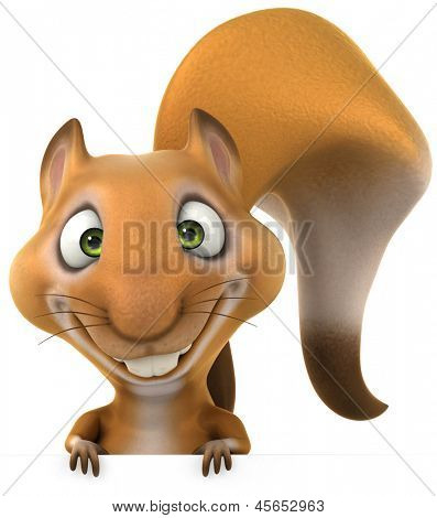 Divertido esquilo