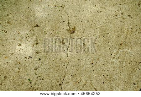 Grunge Crack Pavement Background for Design