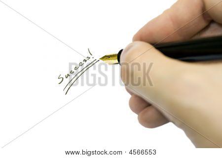 Hand Writing Success