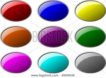 Button Ellipse Set 1