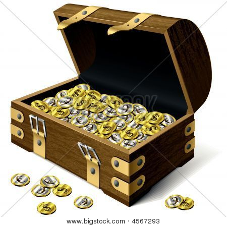 Vector Treasure Chest