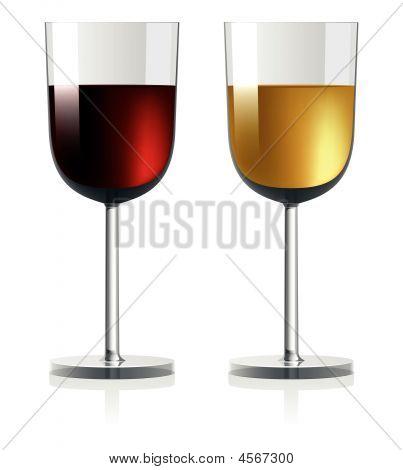 Vector Wineglass