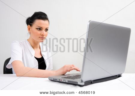 Doctor Whit A Laptop