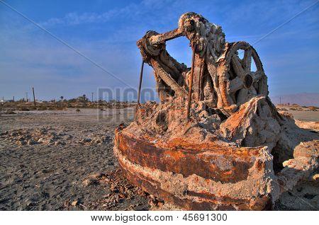 Rusty grúa