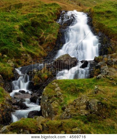 Waterfall1 In The Lake District