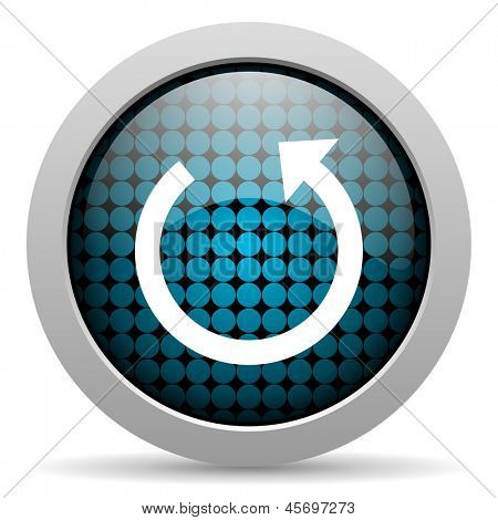 rotate glossy icon