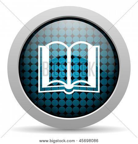 Buch glossy icon