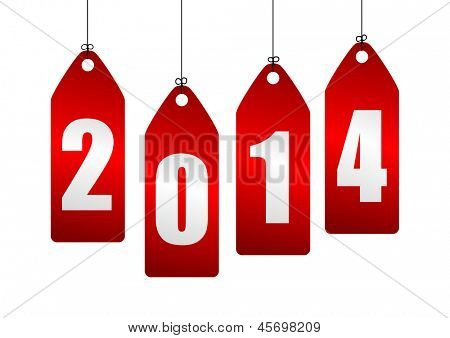 2014 new year illustration