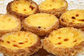 foto of pasteis  - Portugese pastries  - JPG
