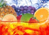 stock photo of fruit-juice  - Image of fruits for coctail - JPG