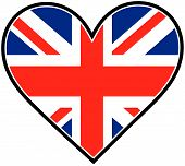 England Heart Flag