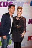 LOS ANGELES - MAY 11:  Ryan Seacrest, Demi Lovato attend the 2013 Wango Tango concert produced by KI