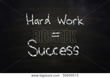 Hard Work Equal Success
