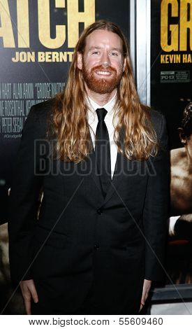 "NEW YORK-DEC 16: Patrick Barry attends the world premiere of ""Grudge Match"" at the Ziegfeld Theatre on December 16, 2013 in New York City."