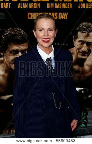 NEW YORK-DEC 16: Actress Kim Basinger attends the world premiere of