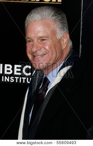 NEW YORK-DEC 16: Boxing announcer Jim Lampley attends the world premiere of