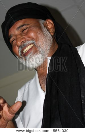 Smiling Afghan Man