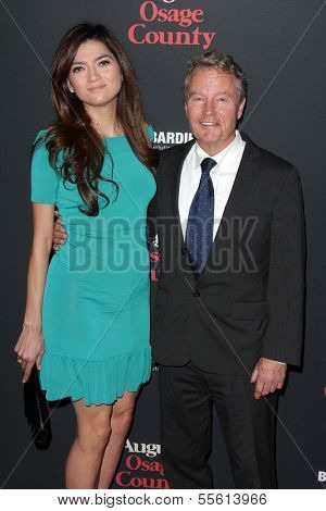 LOS ANGELES - DEC 16:  Blanca Blanco, John Savage at the
