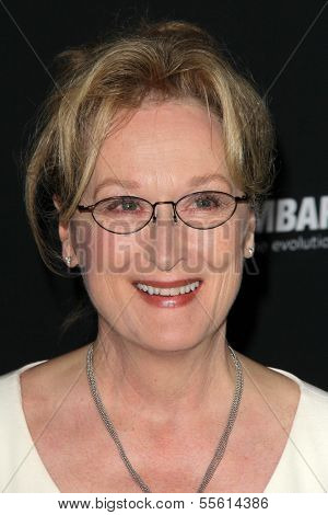 LOS ANGELES - DEC 16:  Meryl Streep at the