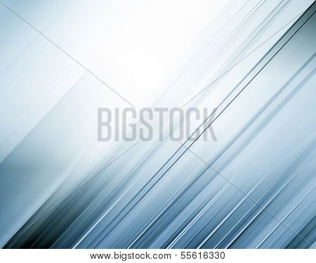 Abstract artistic background texture with vibrant light blue and gray cover of successful business spacious concept, perspective and futuristic tranquility illustration in motion blur shift tilt lines