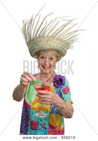 Senior Lady - Cruises & Cocktails