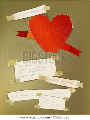 Ripped paper background