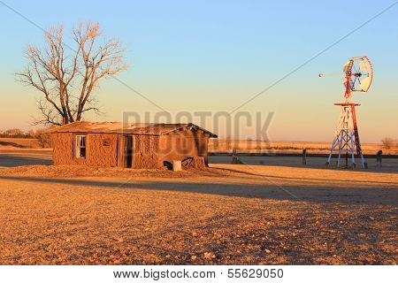 Rustic Great Plains