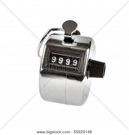 Hand Held Telly Counter 9999