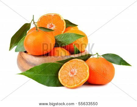 Tangerines In Plate