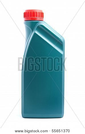 Oil can isolated on white background