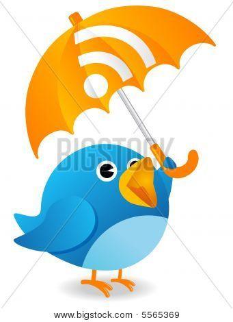 Pájaro de RSS