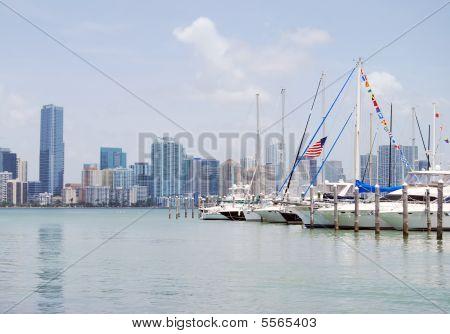 A Marina On Key Biscayne