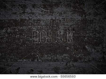 Dark background image of black wall. Place for text