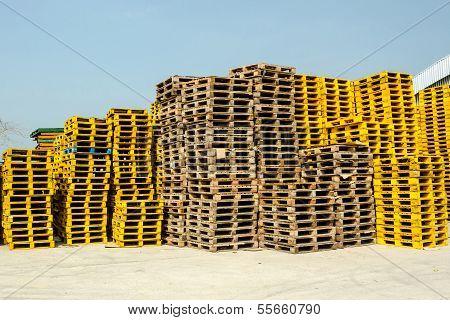 Wooden Pallet.